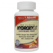 Hydroxycut Clinical Caffeine Free 60 caps + 50% BONUS